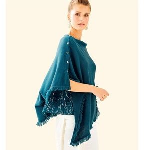 Lilly Pulitzer Cashmere Harp Wrap